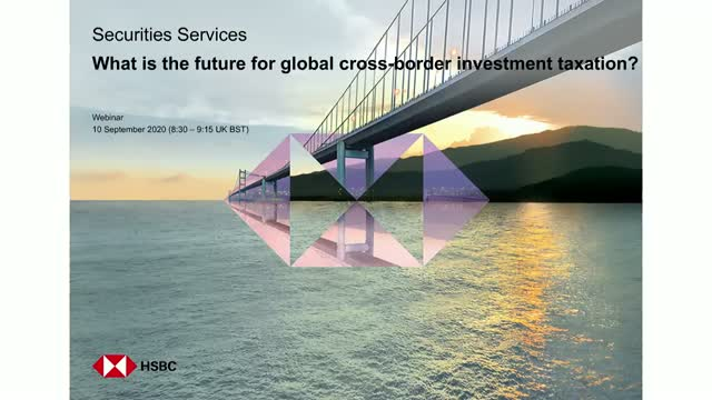 What is the future for global cross-border investment taxation?