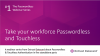 Take your workforce passwordless and touchless
