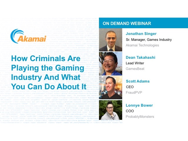 How Criminals Are Playing The Games Industry And What You Can Do About It