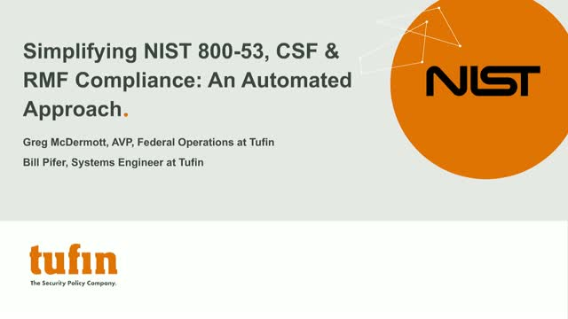 Simplifying NIST 800-53, CSF & RMF Compliance: An automated approach