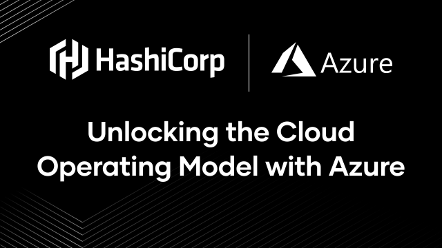 Unlocking the Cloud Operating Model with Azure (Re-do)