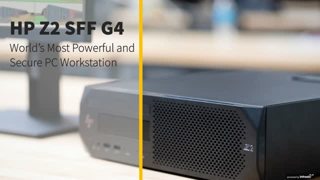 HP Z2 SFF G4 –The World's Most Powerful and Secure Small Form Factor Workstation