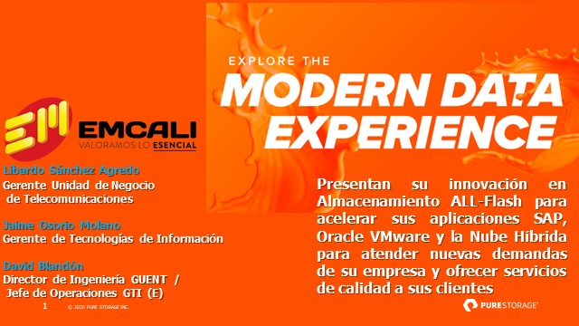 Modern Data Experience for Government [SPANISH]