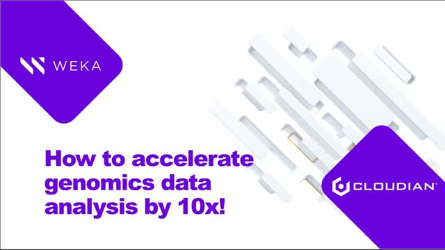 How to Accelerate Genomics Data Analysis Pipelines by 10X