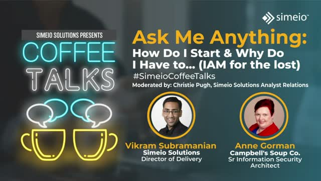 IAM for the Lost: Ask Me Anything about Identity and Access Management