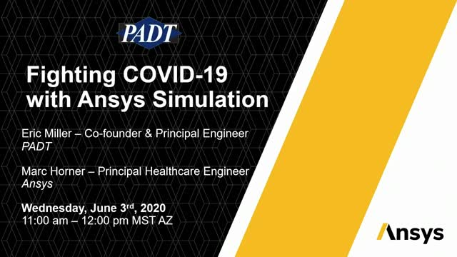 Fighting COVID-19 With Ansys Simulation