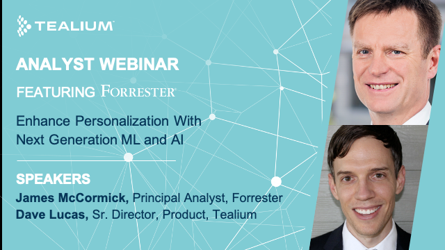 Enhance Personalization With Next Generation ML and AI