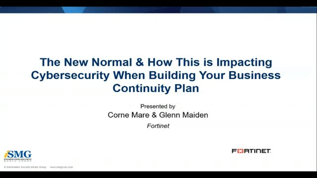 The New Normal & How This is Impacting Cybersecurity When Building Your Business