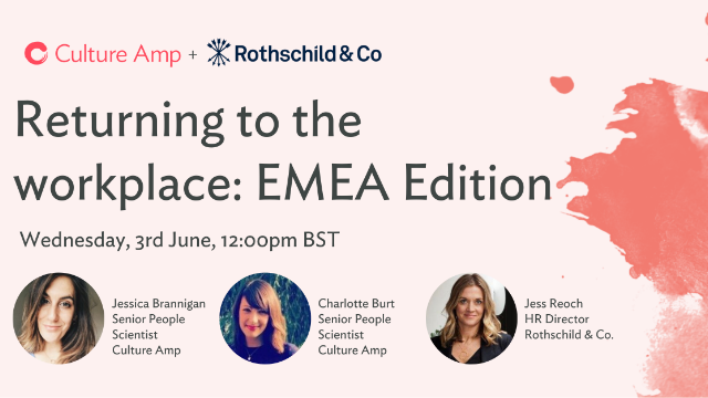 Returning to the Workplace: EMEA Edition