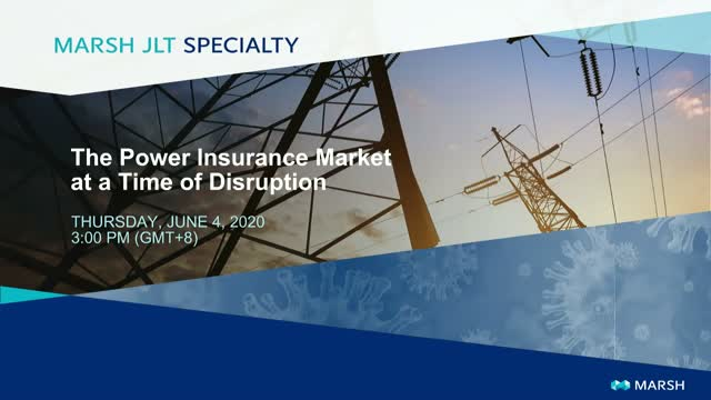 The Power Insurance Market at a Time of Disruption