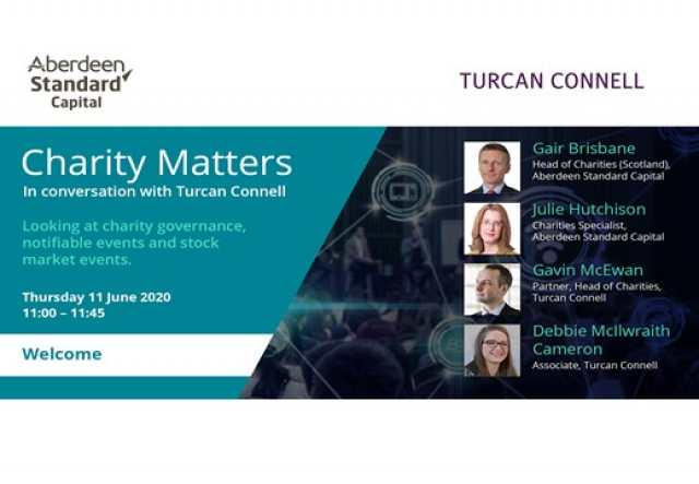 Charity Matters – In conversation with Turcan Connell