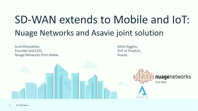 SD-WAN extends to Mobile and IoT