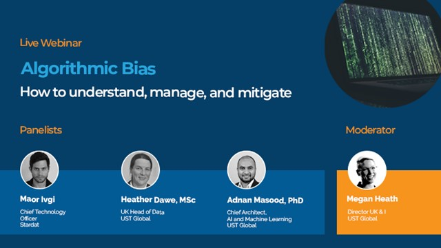 Algorithmic Bias: How to understand, manage, and mitigate