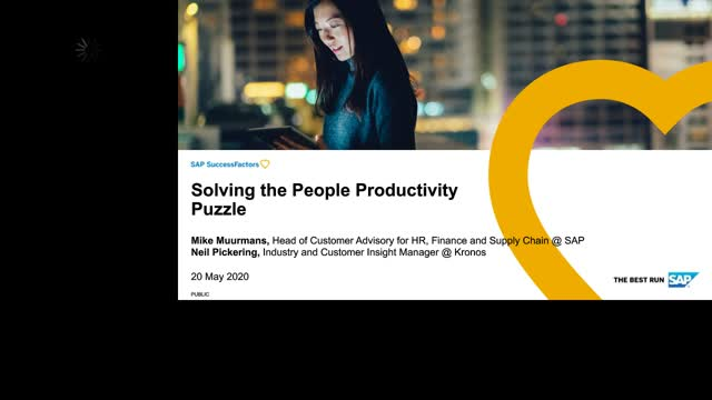 Solving the People Productivity Puzzle