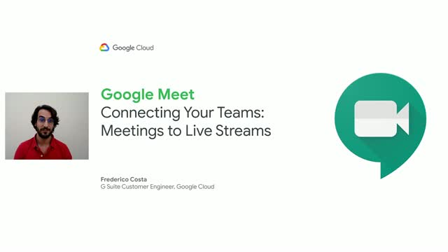 Connecting Your Teams: Meetings to Live Streams