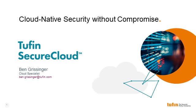 SecureCloud Webinar Series: Cloud-Native Security without Compromise