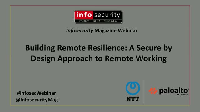Building Remote Resilience: A Secure by Design Approach to Remote Working