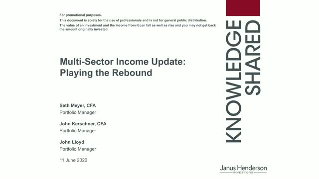 Multi-Sector Income Update: Playing the Rebound