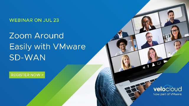 Zoom Around Easily with VMware SD-WAN