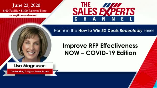 Improve RFP Effectiveness NOW – COVID-19 Edition