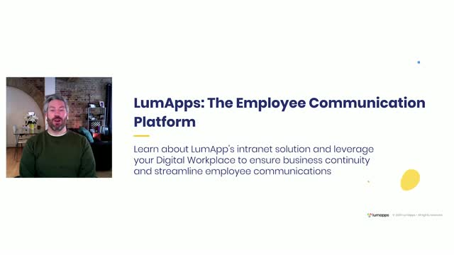 LumApps: The Employee Communication Platform