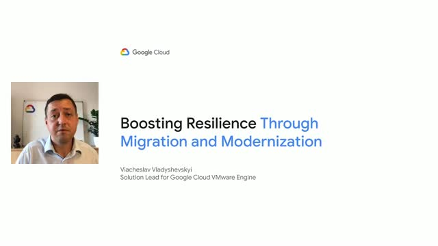 Boosting IT Resilience with Migration and Modernization