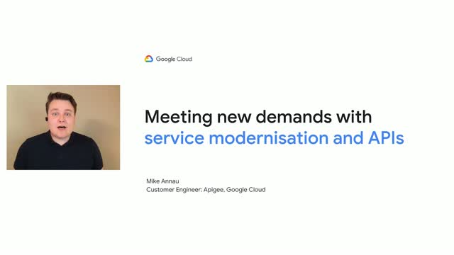 Meeting New Demands with Service Modernisation and APIs
