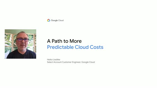 A Path to More Predictable Cloud Costs