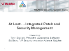 At Last … Integrated Patch and Security Management