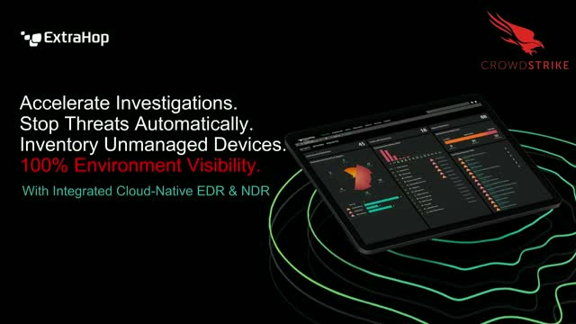 CrowdStrike & ExtraHop Partner to Stop Breaches with Cloud-Native EDR and NDR