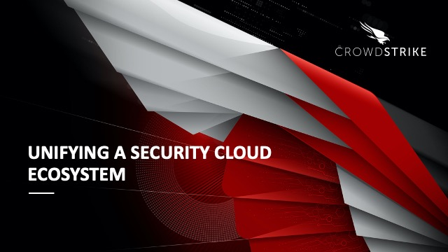 Track: Unifying A Security Cloud Ecosystem