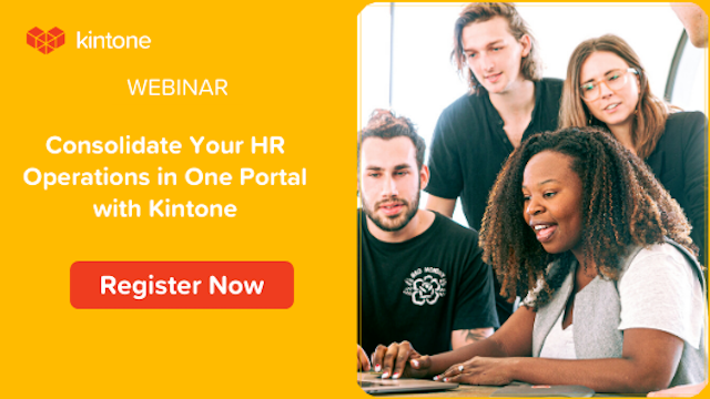 Consolidate Your HR Operations in One Portal with Kintone