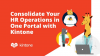 Consolidating Your HR Operations in One Portal with Kintone