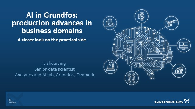 AI in Grundfos: Production Advances in Business Domains