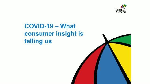What consumer insight is telling us