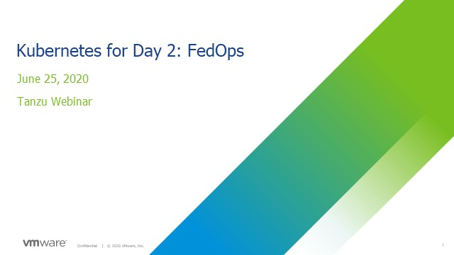 Kubernetes for Day 2: FedOps