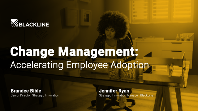 Change Management: Accelerating Employee Adoption