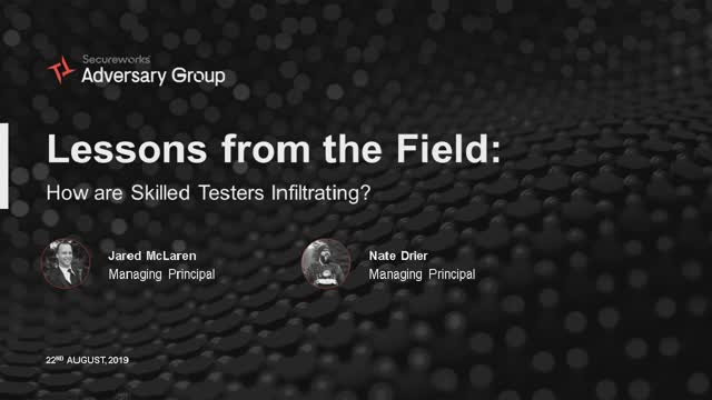 Lessons from the Field: How Are Skilled Testers Infiltrating?
