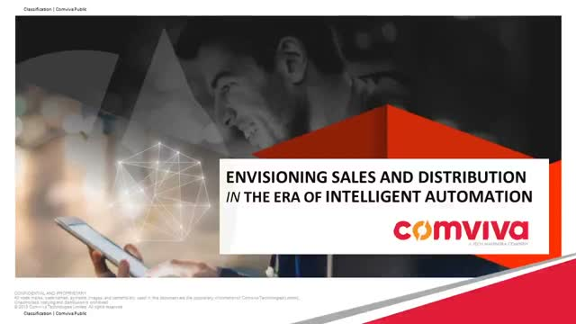 Envisioning Sales and Distribution In The Era Of Intelligent Automation