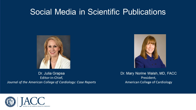 Social Media in Scientific Publications: What's Appropriate? What's Not?