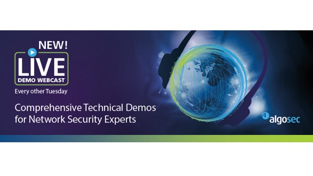 [LiveDemo Webcast]Secure Gov't Networks and Applications, Accelerate Change