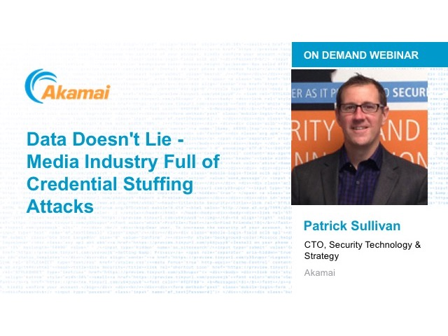 Data Doesn't Lie - Media Industry Full of Credential Stuffing Attacks