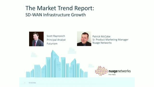 Futuriom's Market Trend Report: SD-WAN Infrastructure Growth
