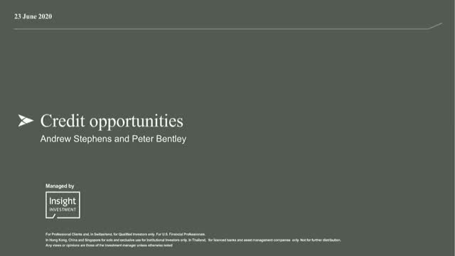 Exploring opportunity in global credit markets