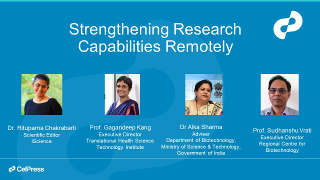 Strengthening Research Capabilities Remotely