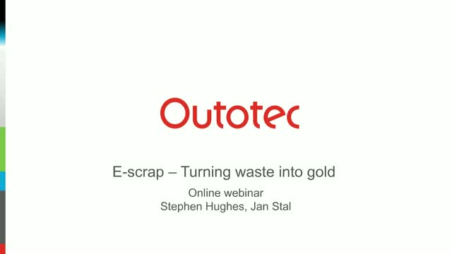 E-scrap – Turning waste into gold