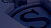 The Eric Sturdza Investments logo animated in 3D
