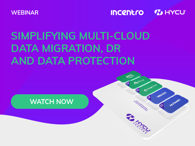 Simplifying Multi-cloud Data Migration, DR and Data Protection