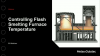 Controlling temperature in the Flash Smelting furnace