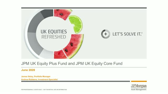 Bitesize update: JPM UK Equities Webconference